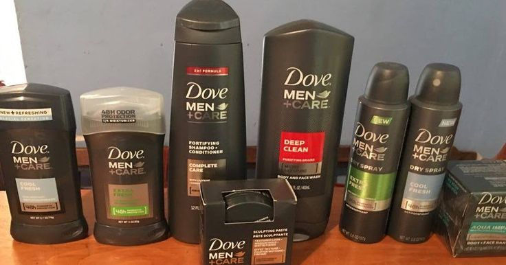 Dove, Men, Care, Shampoo, Conditioning, Body, Skin, Acne, Soap, Deodorant, Antiperspirant, #HGG, Gift, Stocking, Basket