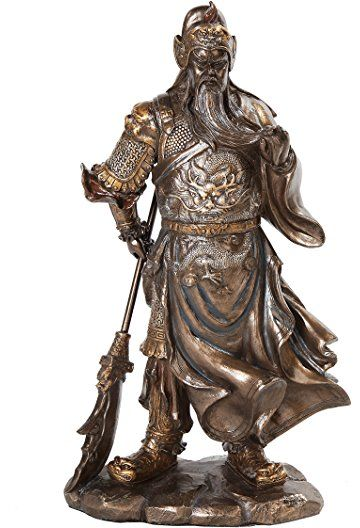 Best Guan Yu Images On Pinterest Doll Figurines And Lights - China unveils colossal 1320 ton god of war statue