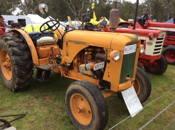 1963 Chamberlain At Henty Machinery Field Days, southern NSW, Australia.