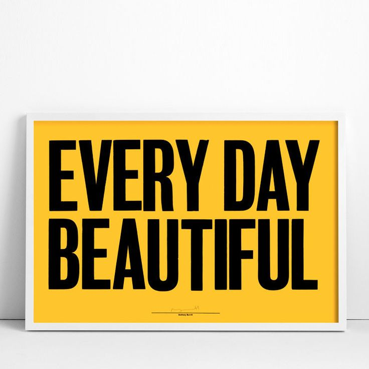 Every Day Beautiful poster