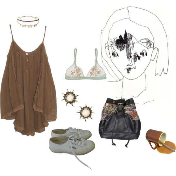 Untitled #211 by papawine on Polyvore featuring Jens Pirate Booty, La Perla, Superga, Don't Ask Amanda and Miss Selfridge
