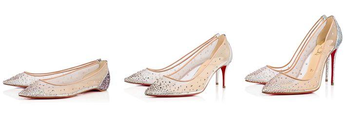 Christian Louboutin Follies Strass - Idealne buty ślubne dla Panny Młodej