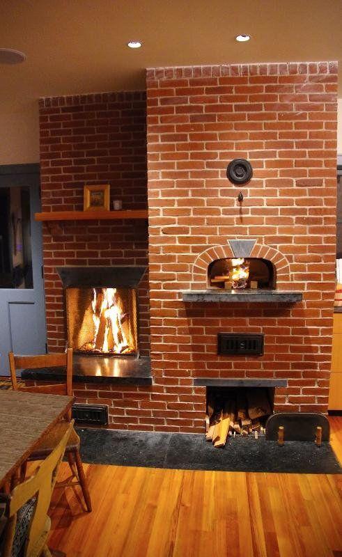 Little Rumford Fireplace / Le Panyol Wood Fired Oven / Masonry Heaters / Brick