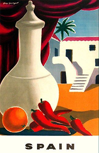 'Spain' Wonderful A4 Glossy Art Print Taken From A Vintag... https://www.amazon.co.uk/dp/B006UQU0X0/ref=cm_sw_r_pi_dp_F8jFxb4350144