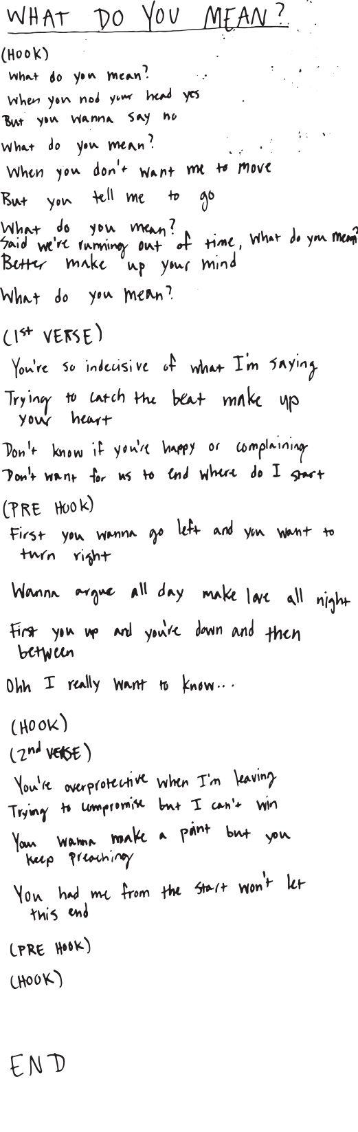Justin bieber tumblr lyrics live quotes - Good Work Here S The Whatdoyoumean Lyrics U Found Http Justinbiebermusic Justin Bieber