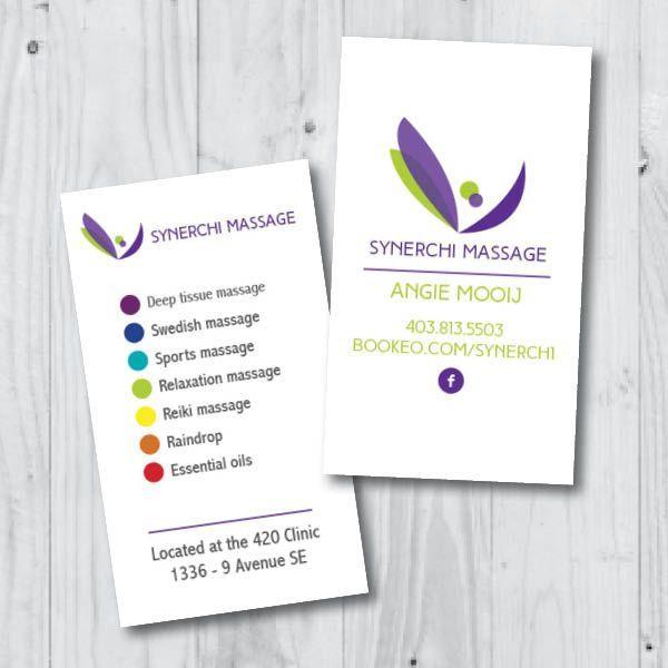 Visitenkarten Beispiele Für Masseur Auch Massage Therapie