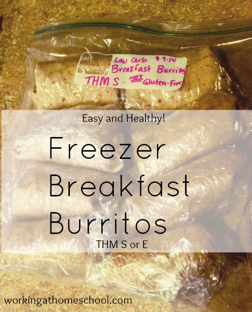 I love breakfast burritos. Unfortunately, I especially love breakfast burritos from Del Taco and Chik-Fil-A. So I made a healthy, homemade freezer version to keep on hand for those cravings. The ki...
