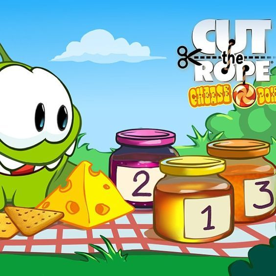 Om Nom usually doesn't like cheese, but, if it's covered in something sweet, he might just give it a try. What do you think he would like to eat most with cheese: #1 Honey, #2 Jam, or #3 Marmalade? #cuttherope #omnom #cute #green #little #monster #love #yummy #candy #sweets #playing #play #mobile #game #games #phone #fun #happy #funny #face #eyes #smile #nice #aww #love #iphone #ipad #android #app: