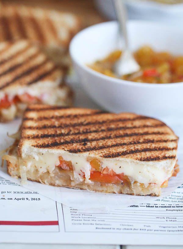 Braaibroodjie(South African Grill Cheese Sandwich)