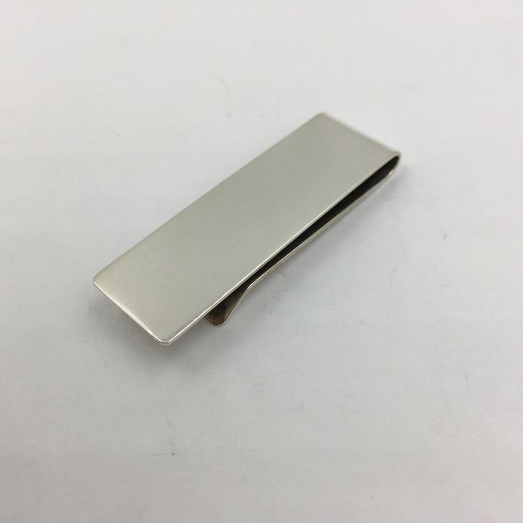 Vintage Tiffany & Co Sterling Silver Money Clip #TiffanyCo
