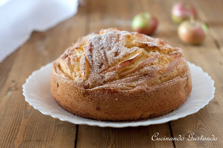Torta+di+mele+senza+burro http://blog.giallozafferano.it/toniaincucina/torta-di-mele-senza-burro/