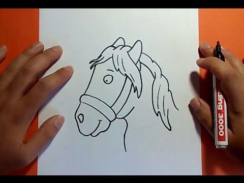 Como dibujar un caballo paso a paso 4 | How to draw a horse 4 - YouTube