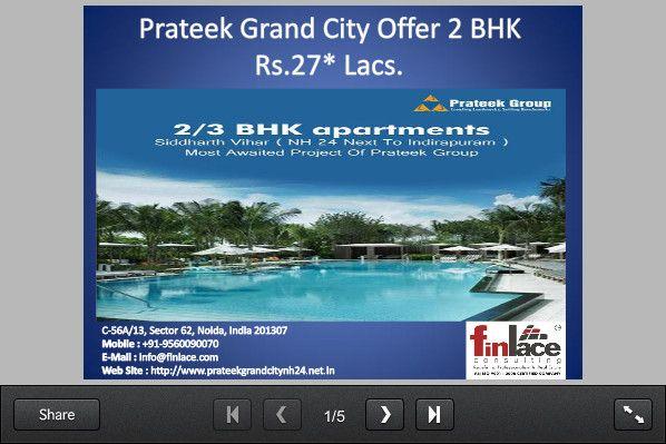 Prateek Grand City - SlideSnack