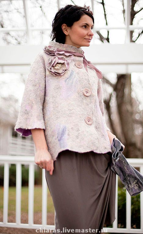 Pattern for seemless felted coat with by IrenaLevkovich on Etsy