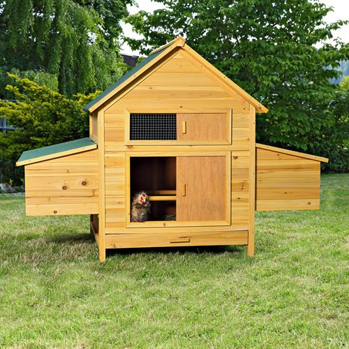Legenest-Huehnerstall-Holz-Huehnerhaus-Kaninchenkaefig-Kaninchenstall-XXL-aus-Holz