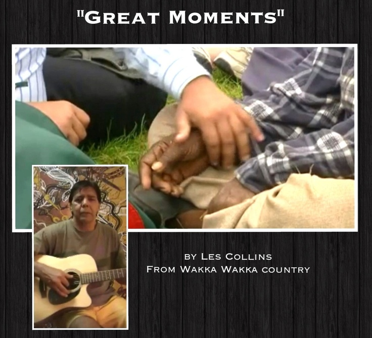YouTube: Great Moments  Song When Australia Apologised to the Indigenous Stolen Generation #Aboriginal #Indigenous #Aborigines #Music #Culture #Australia #Queensland #StolenGeneration #LesCollins #GreatMoments