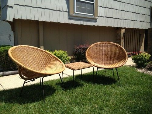 pods chairs chairs obsession lunar pods tiki eames chairs c 1950 s