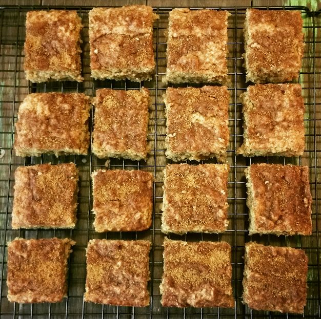 10 Second Apple Cinnamon Slice