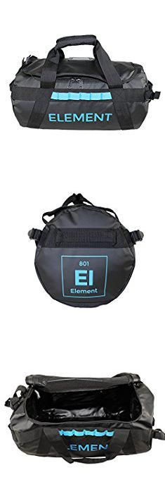 Element Bags. Element Trailhead Duffel Bag With Shoulder Backpack Straps, Waterproof Bomber Construction for Camping, Diving, Travel Black Small 30 Liters.  #element #bags #elementbags