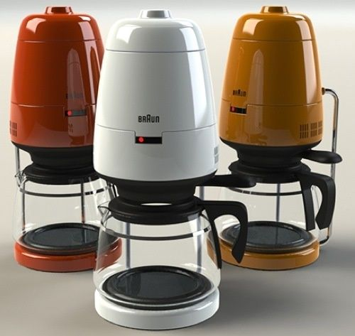 Braun Coffee Maker Leaking From Bottom : Braun s Classic Coffee Pot Remade for The Jetsons Industrial, Coffee maker and Classic