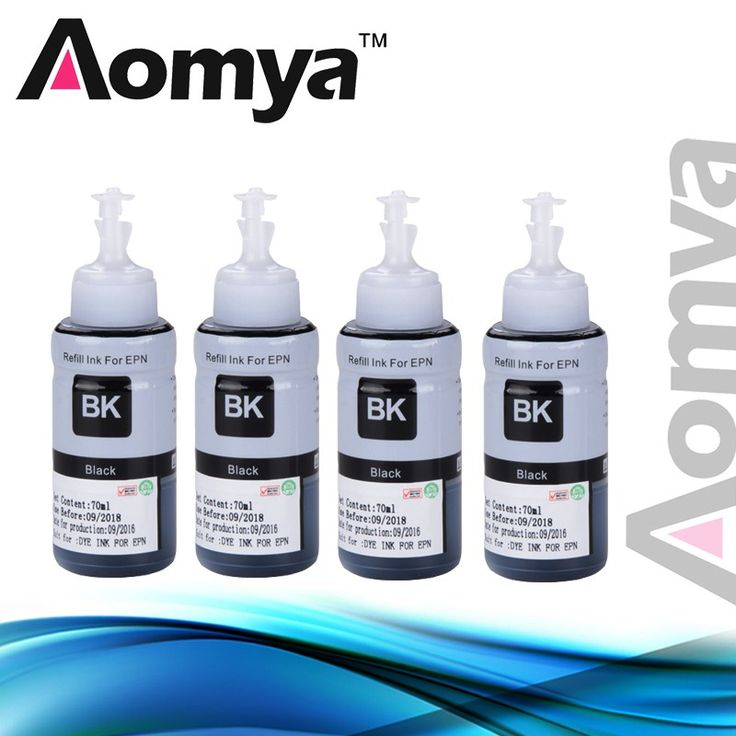 Cheaper US $11.19  4 Black X 70ml Dye Ink For Epson L355 L350 L365 L366 L550 L555 L566 L800 L801 L805 L110 L120 L210 Ink Tank System Inkjet Printer  #Black #Epson #Tank #System #Inkjet #Printer  #Electronics