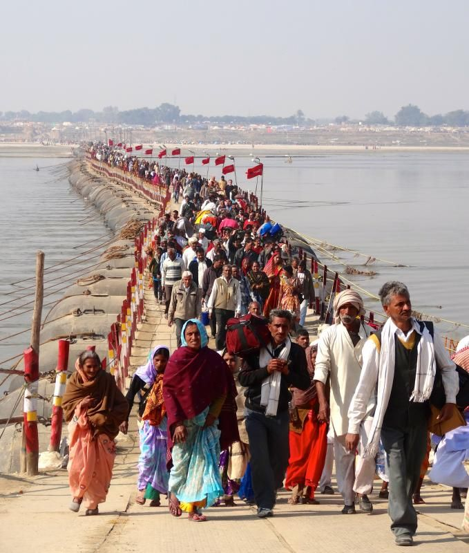 Kumbh Mela Festival Nashik, India People come to bathe in the Ganges in remembrance of a divine battle that broke the holy pitcher containing the nectar of immortality.
