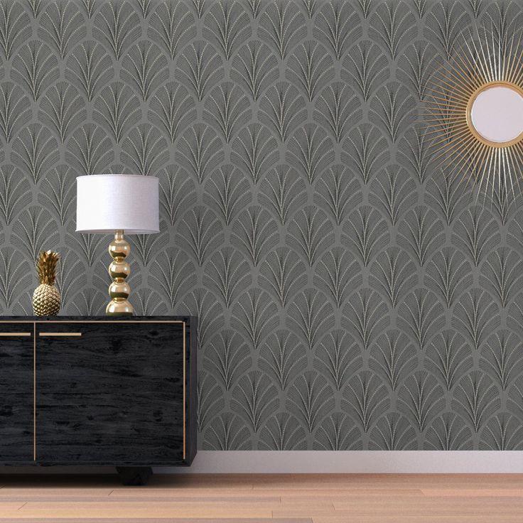25 best Papier peint salon images on Pinterest Adhesive, Leaves
