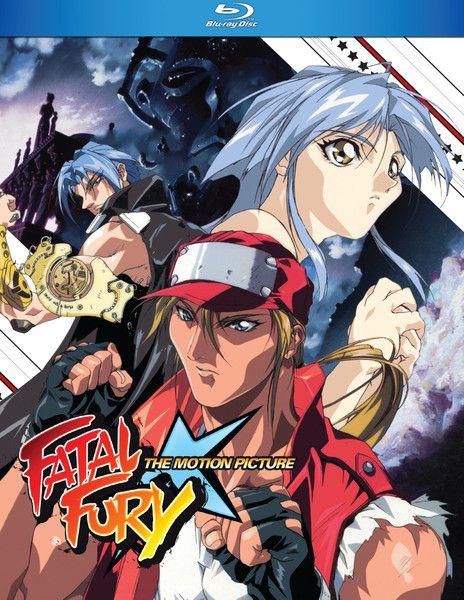 Fatal Fury The Movie Blu Ray Anime Release Fury Movie Fatal Fury Characters