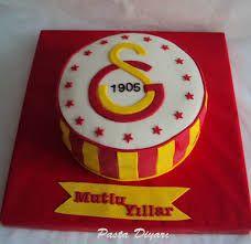 Galatasaray Doğum günü Yaş Pastasi