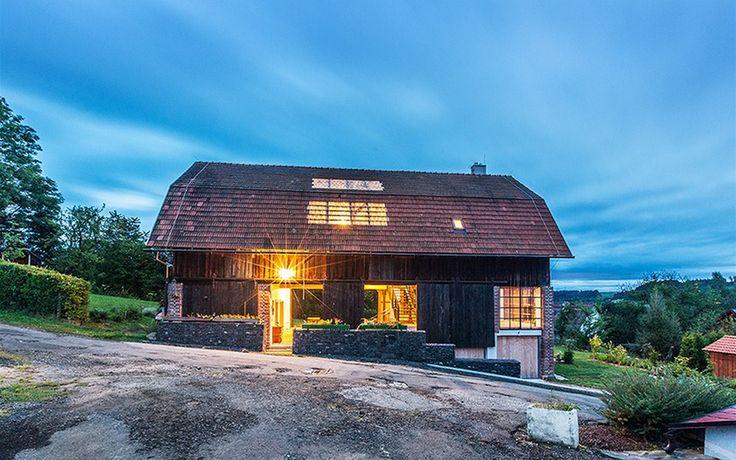 Cena v kategorii rekonstrukce: stodola, Benešov u Semil,  Pavel Nalezený, Jakub Adamec /Studio Raketoplán