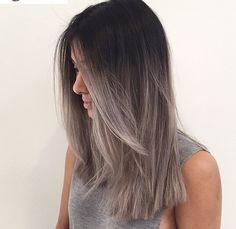 20 Glamorous Ash Blonde and Silver Ombre Hairstyles