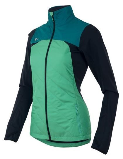 Pearl Izumi running jacket flash insulator for women. What winter running clothes to wear? Best running jackets for cold weather running gear. Running tips for beginners for outfit. Good jacket important part of training plan essentials to get with layers, headband, beanie, hat, shoes, pants, thermal tights, leggings, wool socks. Running accessories for women and men. Cute stylish running outfit with teal, green, blue. #running #runningtips