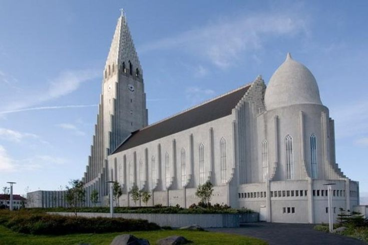 Лютеранская церковь в Рейкьявике - Путешествуем вместе