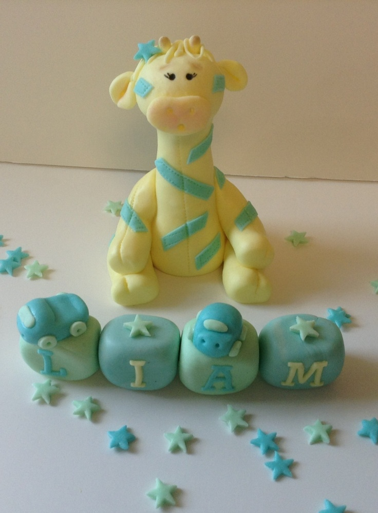 Baby Shower Giraffe Cake Ideas