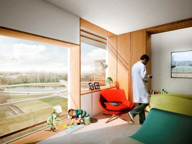 Hospital Interiors Design Patient Room