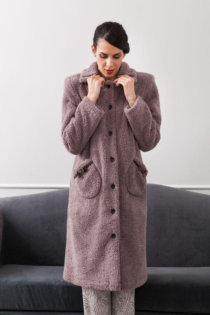 #dusty mallow #winterfashion   #cozy dressing gown. #fallwinter2017
