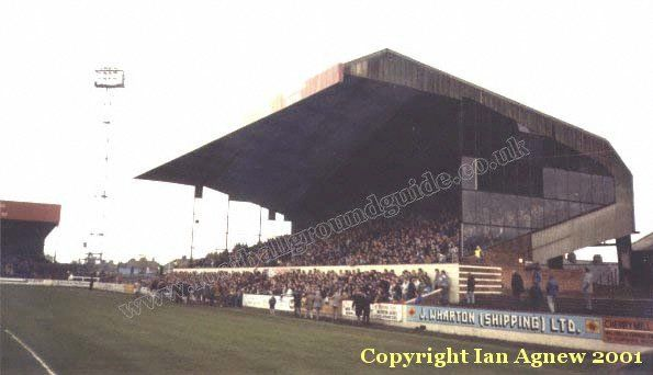 The Old Showground - former home of the mighty Iron