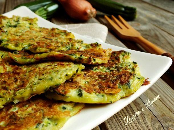 frittatine di zucchine