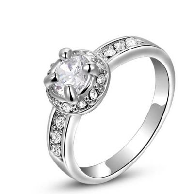 Cubic Zircon Round Ring  for $15.00 #onselz#jewlery#rings#