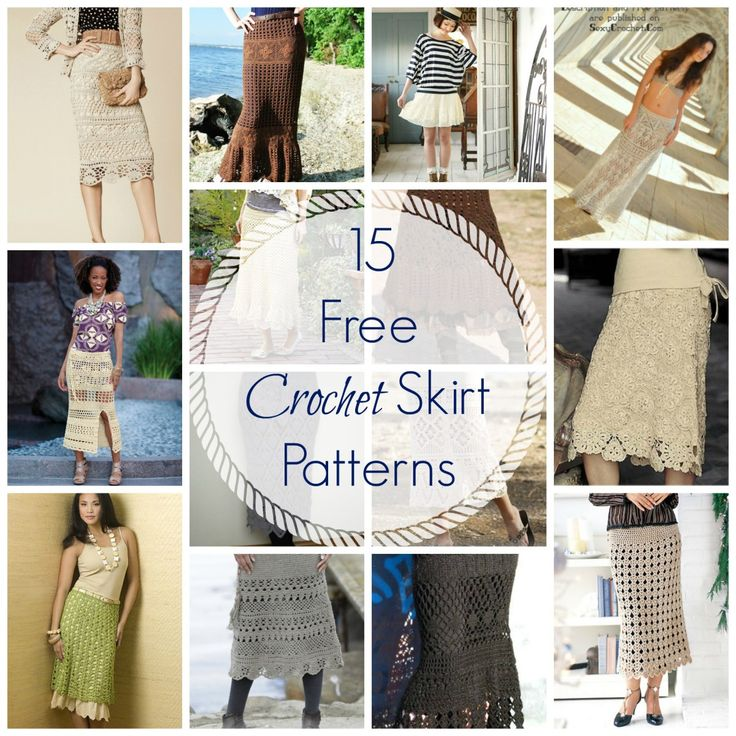 175 besten Crochet Skirts Bilder auf Pinterest | Häkelmuster rock ...