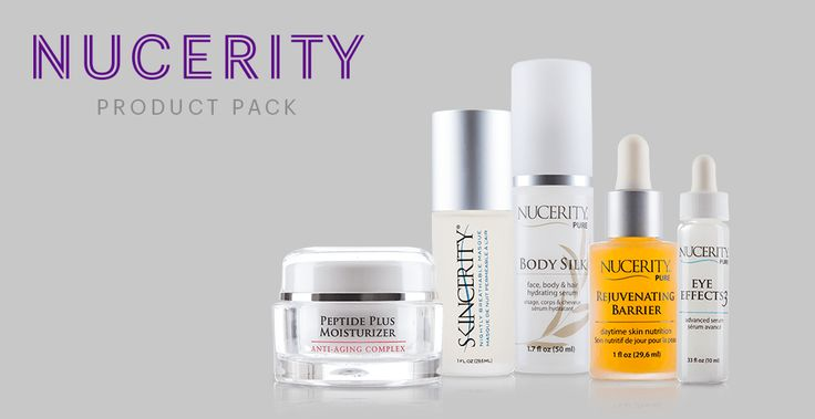 The #NuCerity Product Pack.