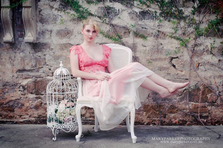 Pink lace 2 piece wedding dress http://www.arcarocouture.com.au