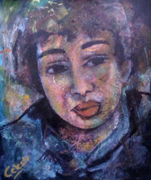 Paintings - RAY - AN ORIGINAL PAINTING BY CELESTE FOURIE-WIID for sale in Hermanus (ID:302475383)