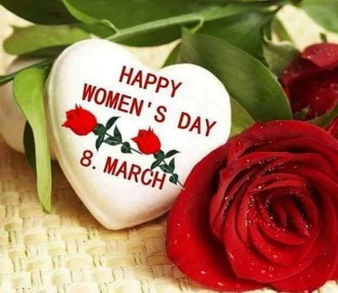 HAPPY WOMEN`S DAY - 8 MARCH