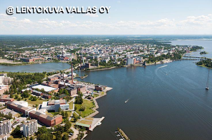 Vaasan kaupunkia Ilmakuva: Lentokuva Vallas Oy