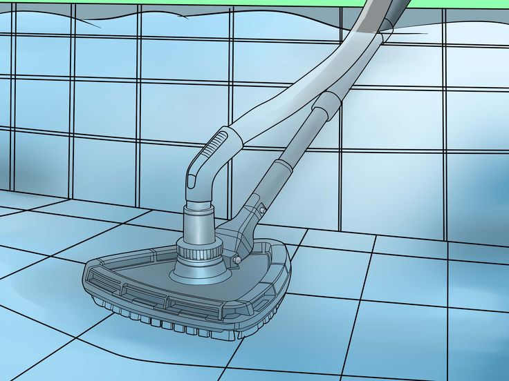 How to Manually Vacuum Your Swimming Pool via wikiHow