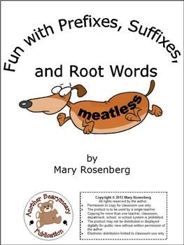 This is a great mini-unit to use for teaching prefixes, suffixes, and root words. This mini-unit contains* 5 SMART Board lessons that can be used...