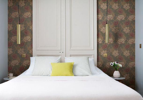 Отель Henriette в Париже, стилист Ванесса Скофье. Нажмите на фото, чтобы посмотреть все номера отеля.