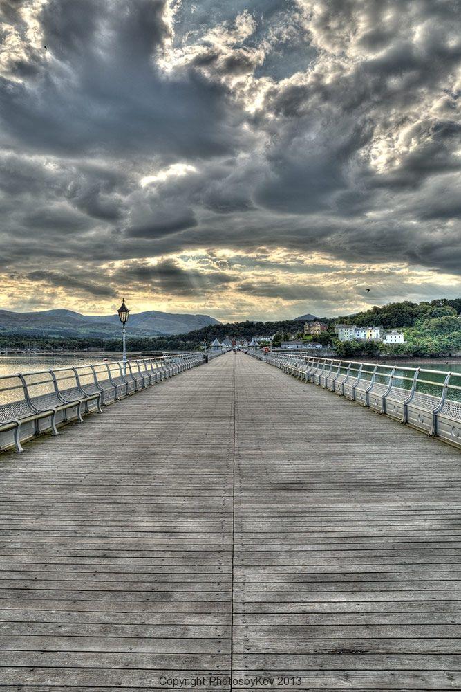 Garth Pier - Garth pier in Bangor N. Wales
