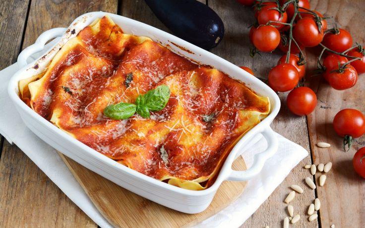 Lasagne alle melanzane e ricotta ricetta